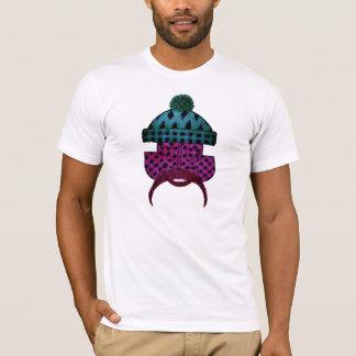 Lumber plaid dude purple T-Shirt