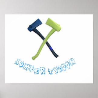 LUMBER TYCOON 2 POSTER