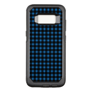Lumberjack Blue Black Winter Buffalo Plaid OtterBox Commuter Samsung Galaxy S8 Case