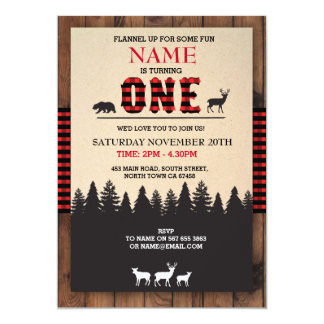Lumberjack Invitations & Announcements | Zazzle.com.au