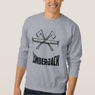 Lumberjack Logger Axe & Saw Sweatshirt