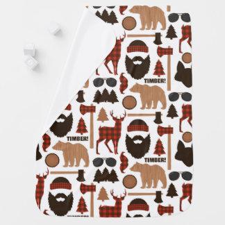 Lumberjack Pattern Baby Blanket