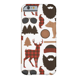 Lumberjack Pattern Barely There iPhone 6 Case