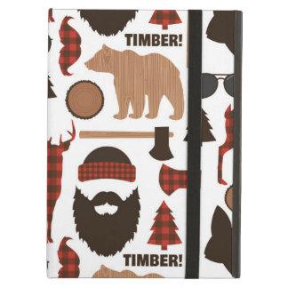 Lumberjack Pattern iPad Air Cover