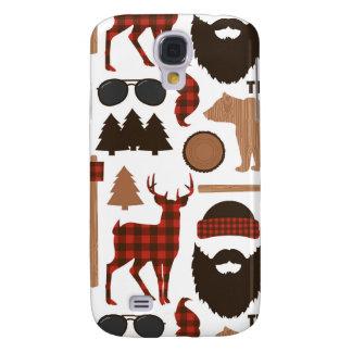 Lumberjack Pattern Samsung Galaxy S4 Cover