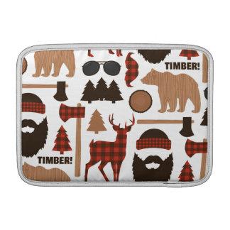 Lumberjack Pattern Sleeve For MacBook Air