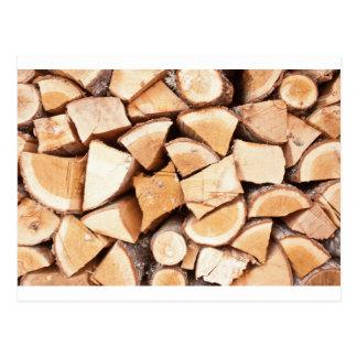 Lumberjack Postcard