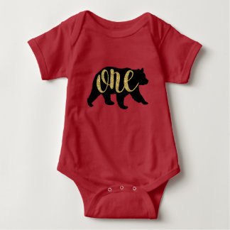 Lumberjack Woodland Bear 1st Birthday Shirts