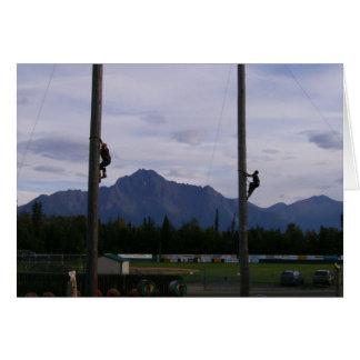 Lumberjacks Card