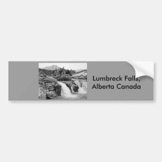 Lumbreck Falls Bumper Sticker