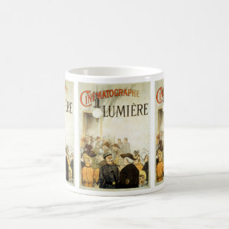 Lumière Brothers Cinema Poster Basic White Mug