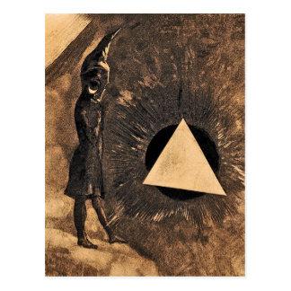 Lumière by Symbolist Odilon Redon Postcard