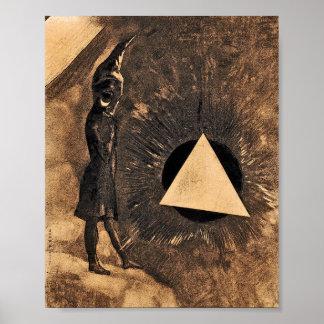 Lumière by Symbolist Odilon Redon Poster