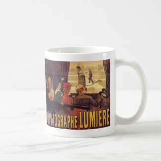 Lumière cinema poster coffee mugs