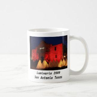 Luminaria 2009 San Antonio Texas Coffee Mugs