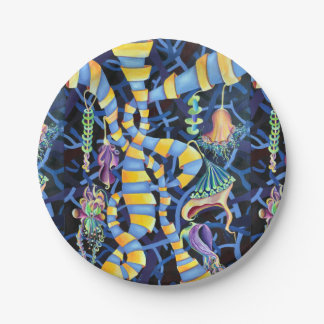 Luminescence 7 Inch Paper Plate
