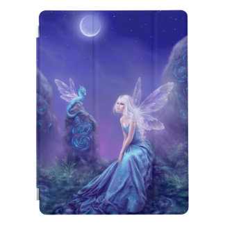 Luminescent - Dragon & Fairy Painting iPad Pro Cover