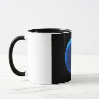Luminol on a radish mug