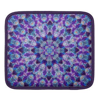 Luminous Crystal Flower iPad Sleeve
