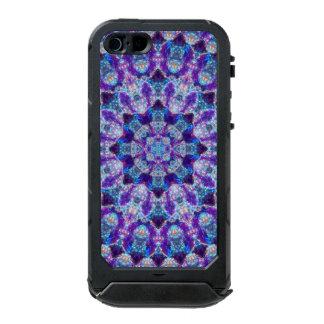Luminous Crystal Flower Mandala Incipio ATLAS ID™ iPhone 5 Case