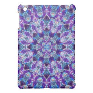 Luminous Crystal Flower Mandala iPad Mini Case