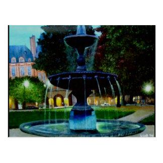 Luminous Fountain Postcard