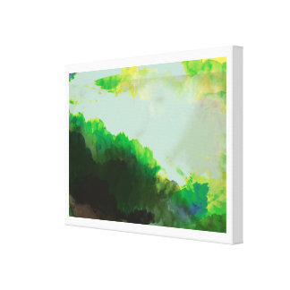 luminous green gallery wrapped canvas