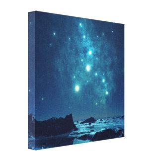 Luminous Stars Gallery Wrap Canvas