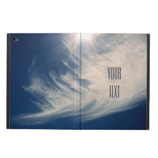 Luminous Sun and Wispy Clouds Personalize Powis iPad Air 2 Case