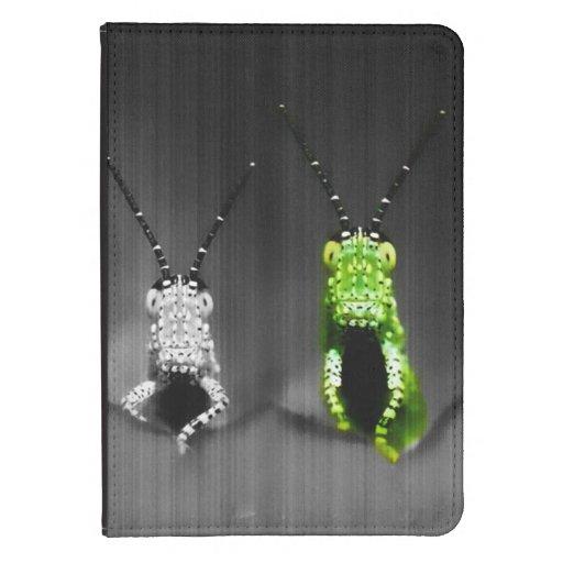 Lumpy Green Bug Kindle 4 Cover