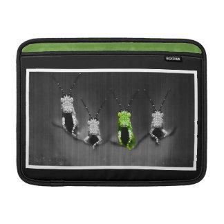 Lumpy Green Bug Sleeves For MacBook Air