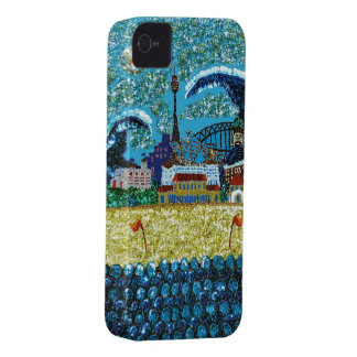 Luna Bondi Sequin Art iPhone 4 Barely There iPhone 4 Cover