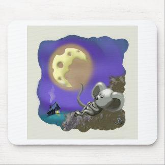 luna de queso mouse pad