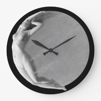 LUNA:  Goddess of the Moon Large Clock