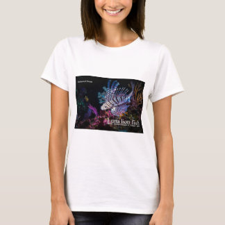 Luna lion fish, Pteroislunulata, T-Shirt