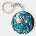 Luna Lovegood Basic Round Button Key Ring