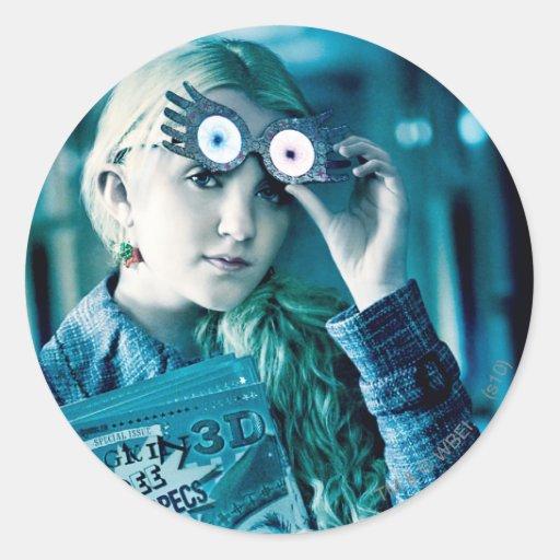 Luna Lovegood Classic Round Sticker