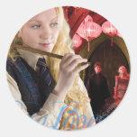 Luna Lovegood Montage Classic Round Sticker