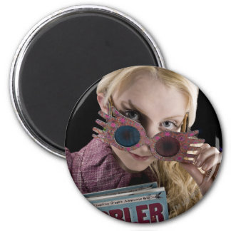 Luna Lovegood Peeks Over Glasses Magnet