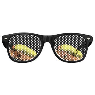 Luna Moth Caterpillar Retro Sunglasses