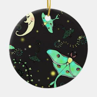 Luna Moth Christmas Ornament holiday decoration