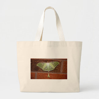 Luna Moth Large Tote Bag