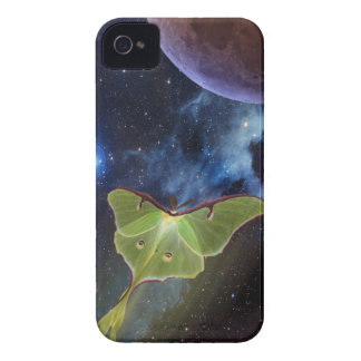 Luna Moth Lunar Flight iPhone Case