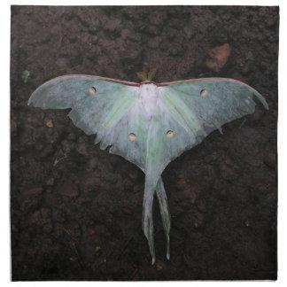 luna moth nature butterfly fairy fantasy dream napkin