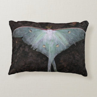 luna moth nature butterfly fairy fantasy dream decorative cushion