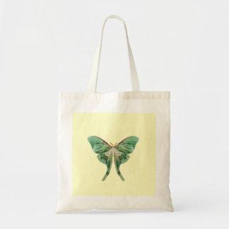Luna Moth Tote Budget Tote Bag