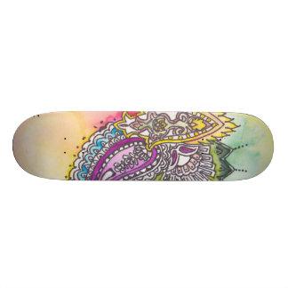 Luna Paisley Custom Skateboard
