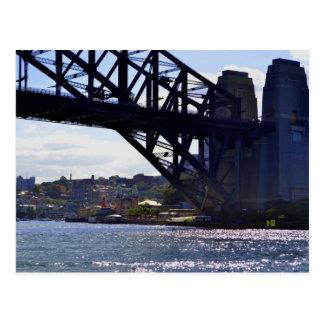 Luna Park Sydney Harbour Bridge Australia Postcard