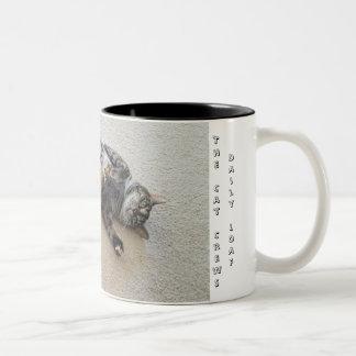 Luna Two-Tone Coffee Mug
