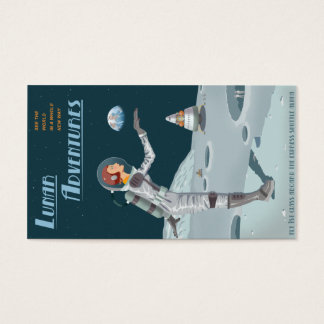 Lunar Adventures biz card